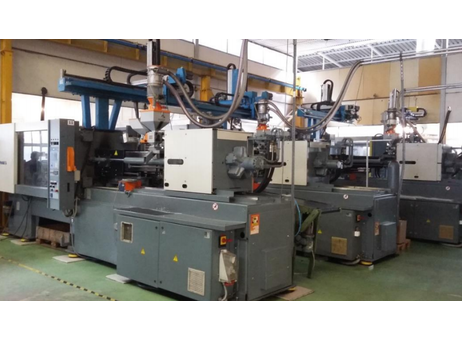 shipping injection moulding machine used