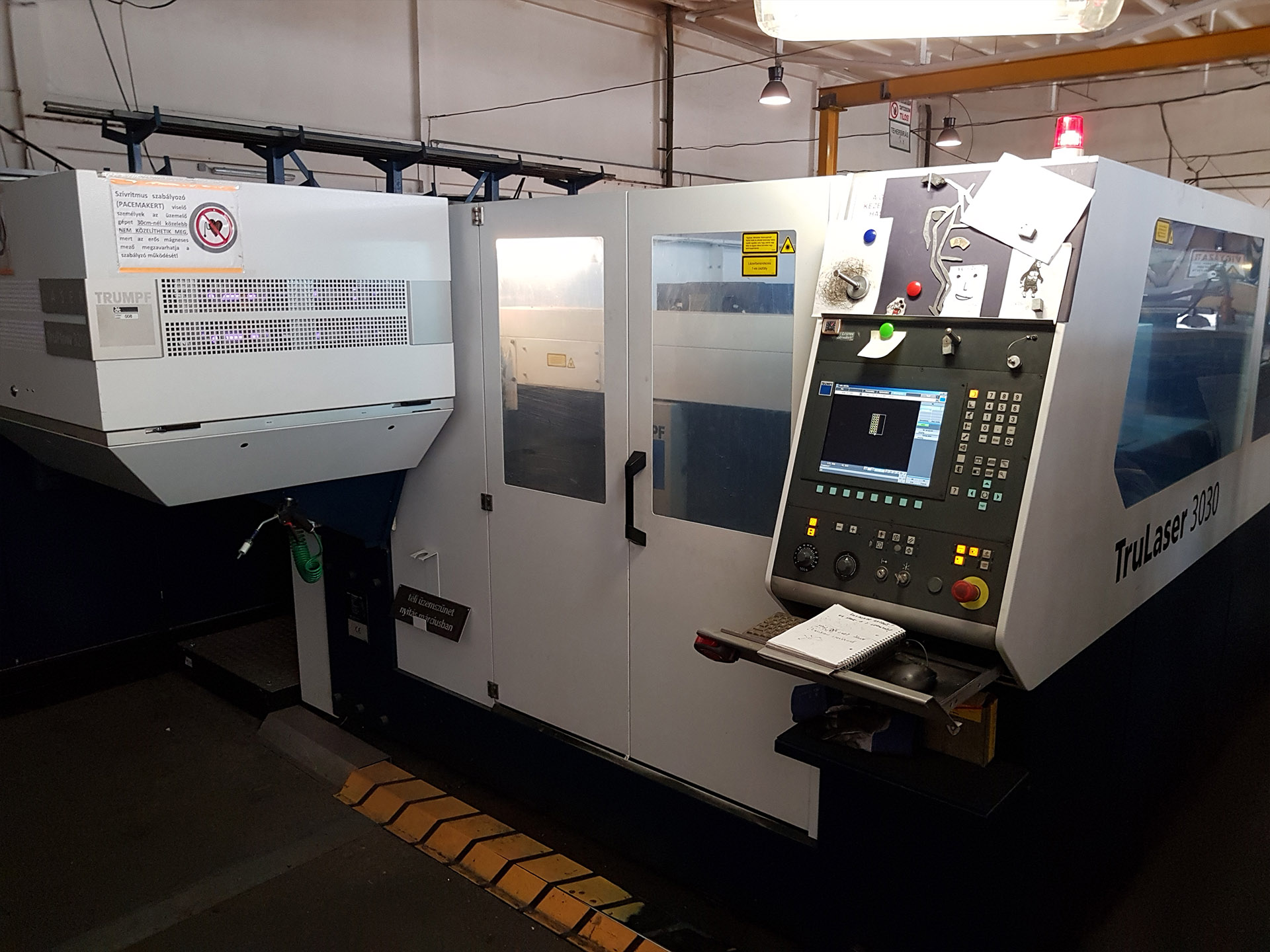 Price of Trumpf laser cutting machine