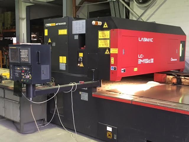 Used Amada laser cutting machine for sale