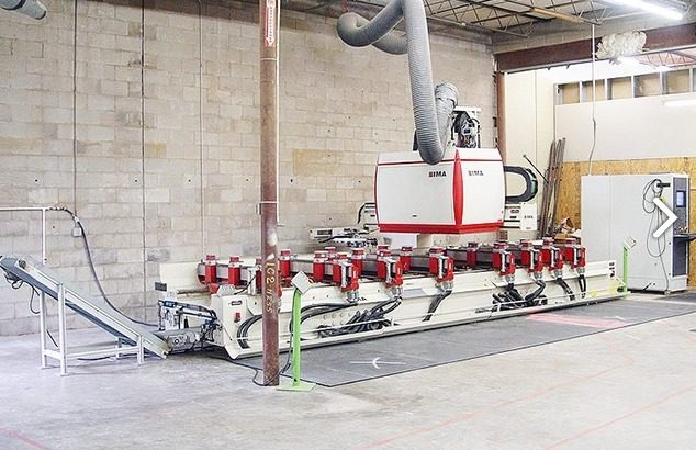 wood cnc machining center
