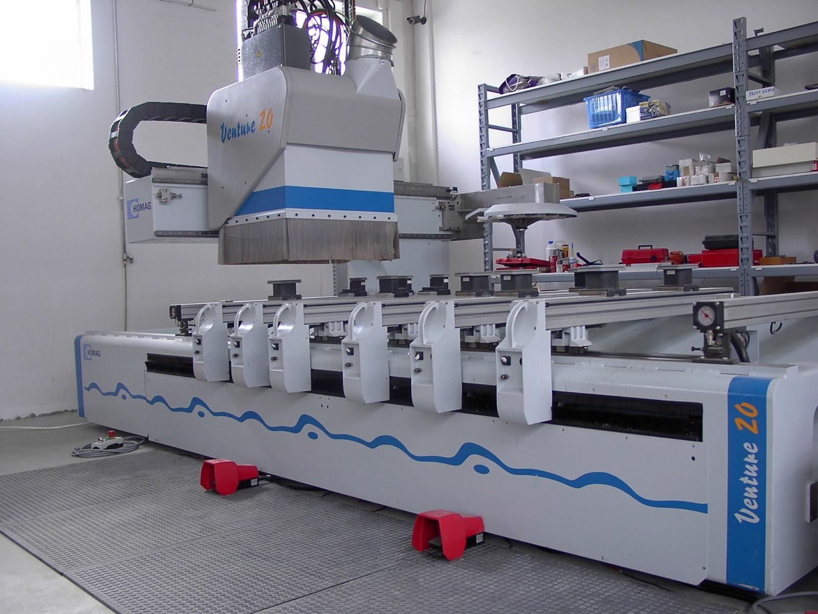 wood machining center
