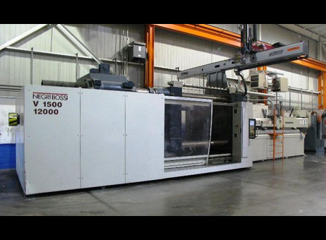 Negri Bossi VECTOR 1500/17000 Injection moulding machine