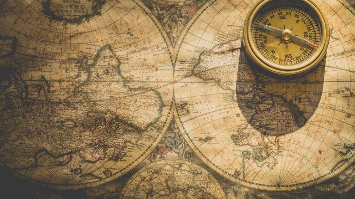 Adventure map ancient