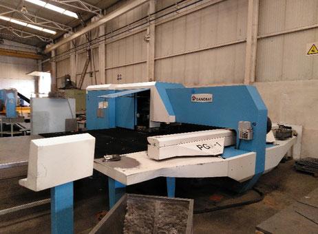 Goiti Danobat PGA1 CNC punching machine