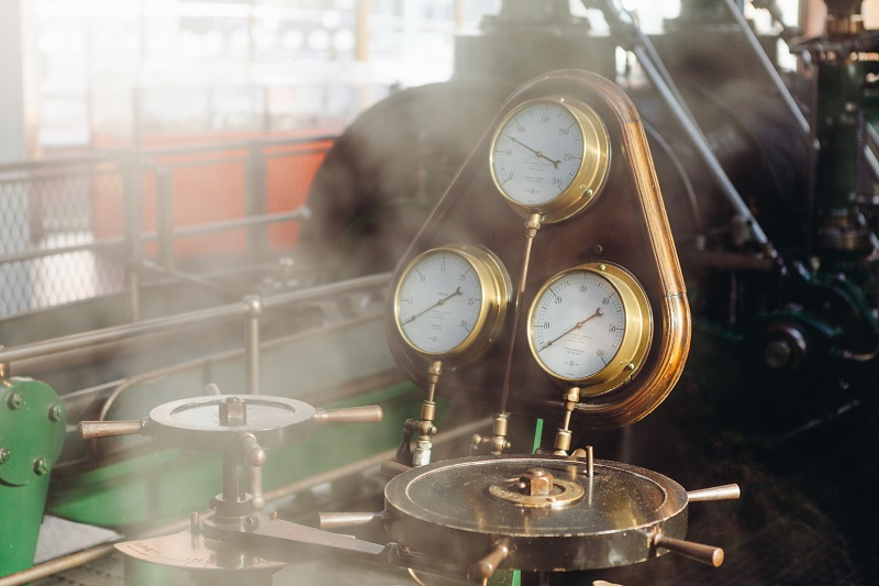 Machine steam