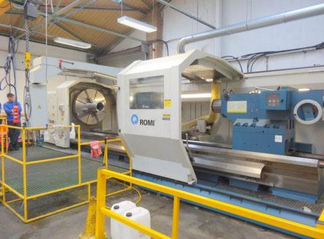 Romi C-1600 x 5000 mm CNC Lathe