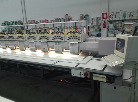 Used ZSK X15 11 Embroidery machine